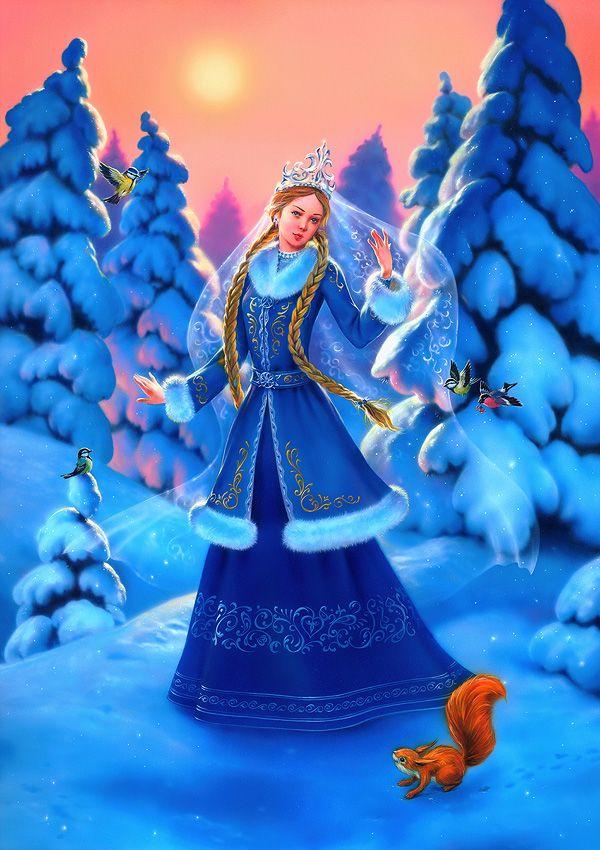 Snowgirl by EldarZakirov.deviantart.com on @DeviantArt