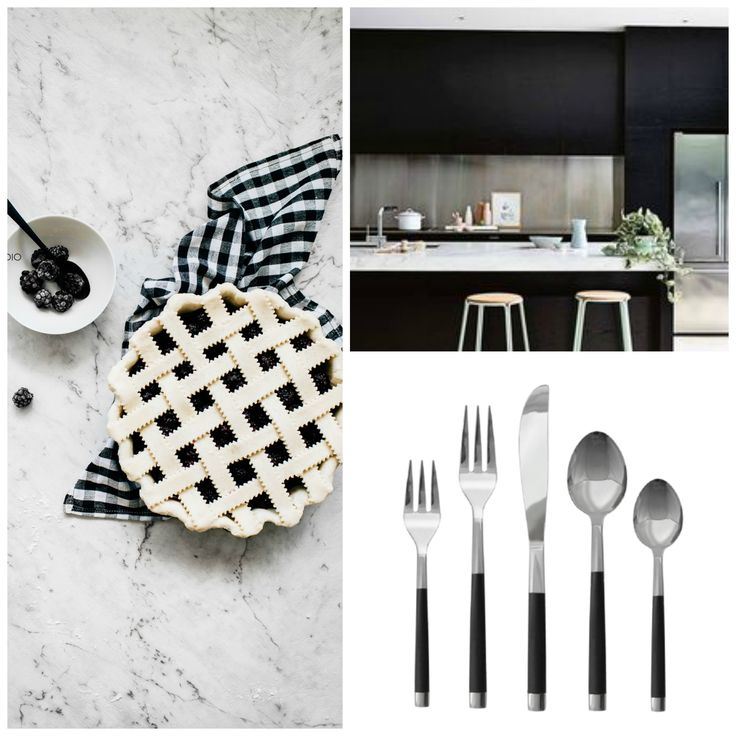For the edgy fashion forward, flatware doesn't get sleeker than this! Haus Enamel 20 Piece Set is the ultimate Nordic fresh design paired with the classic black and silver two tone to bring that modern Scandinavian look that we all love! On SALE NOW for Thanksgiving, this 20 Piece Set is THE fresh addition for your table on Turkey Day or the perfect gift for a hard working host! From $89.99 to $36.00 - this Signature set is a deal to steal!