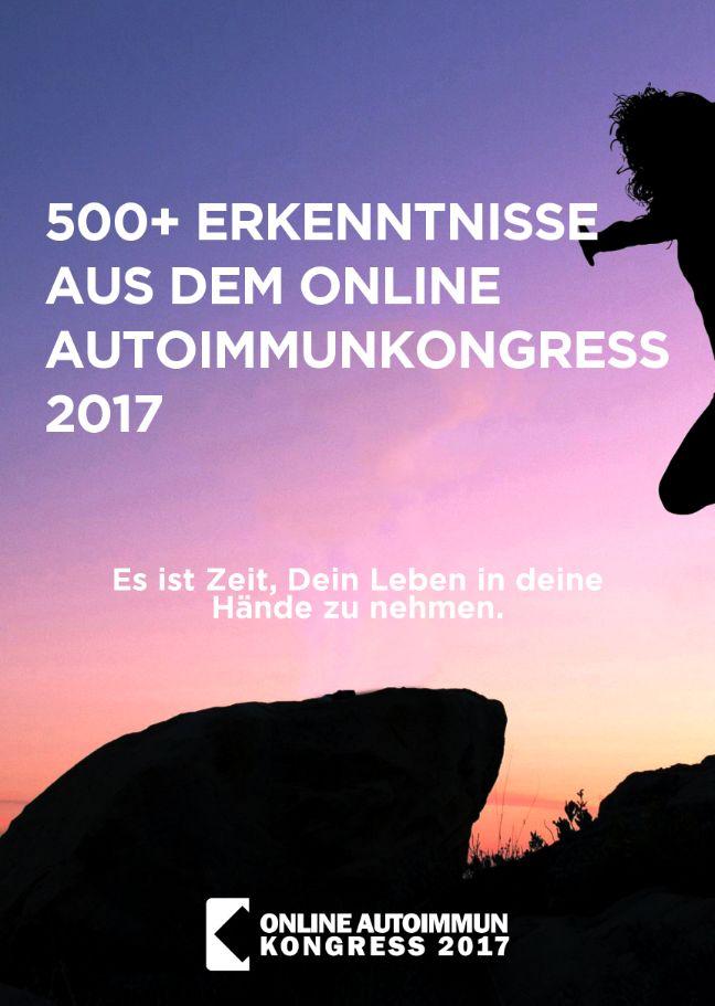 Seid dabei beim Online Autoimmunkongress 2017!