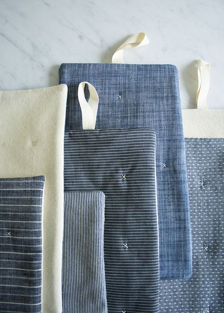 Molly's Sketchbook: Simple Stitched Hotpads | Flickr - Photo Sharing!