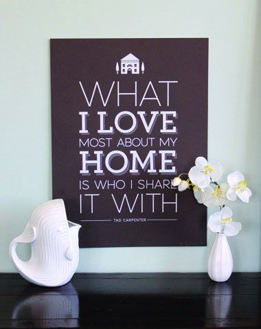 Good to keep in mind when I get frustrated with the house search!  No matter where we live, we'll be together <3