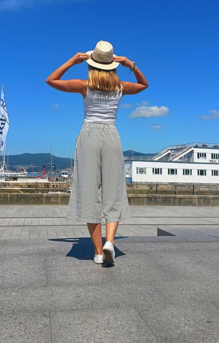 Trousers, street style, stripes, sunmer style