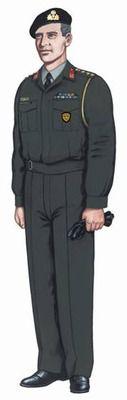 Γενικό Επιτελείο Στρατού - Στολές Αξιωματικών - Ανθυπασπιστών - Υπαξιωματικών