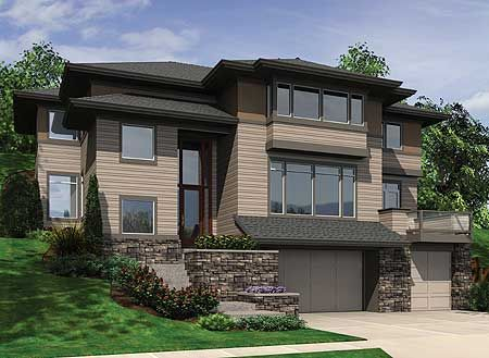 45 best ideas about Hillside home design and plans on ...