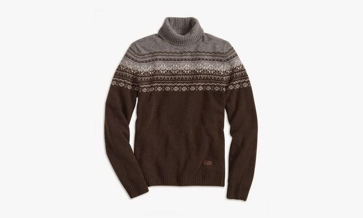 Cultures Hommes: Pull jacquard Dockers