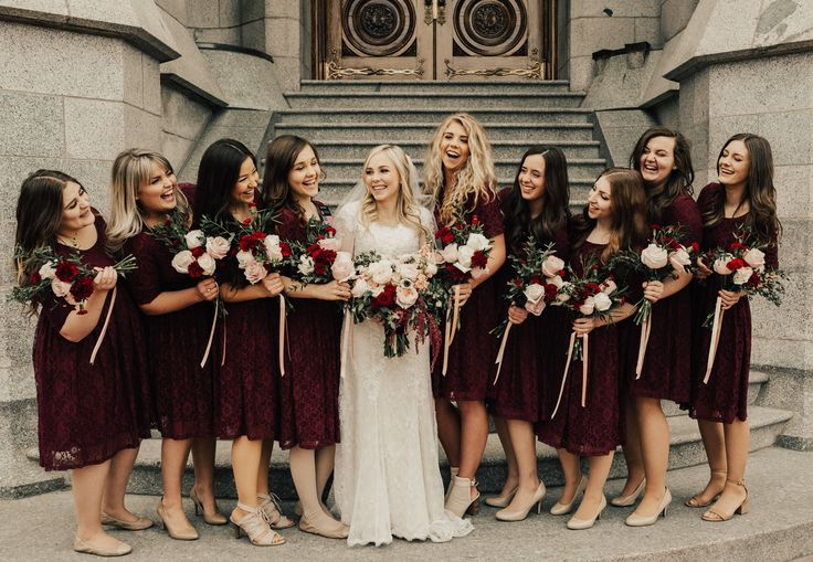 SLC Temple Bridesmaids