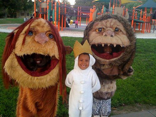 Perhaps you were the BEST parent and helped your kids take on Where The Wild Things Are.   What's The Best Group Halloween Costume You've Ever Had?