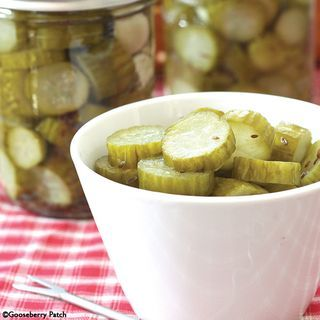 Gooseberry Patch Garlic Dill Pickles Recipe