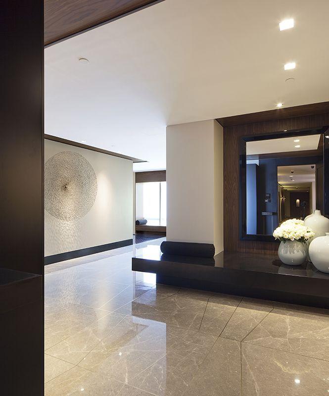 Beton und Granit harmonieren wunderbar miteinander