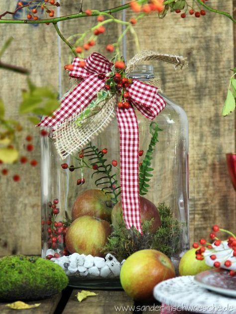 Die besten 25+ Herbst tischdekorationen Ideen auf Pinterest - herbst deko ideen fur ihr zuhause