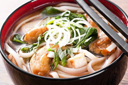 Soupe asiatique au poisson