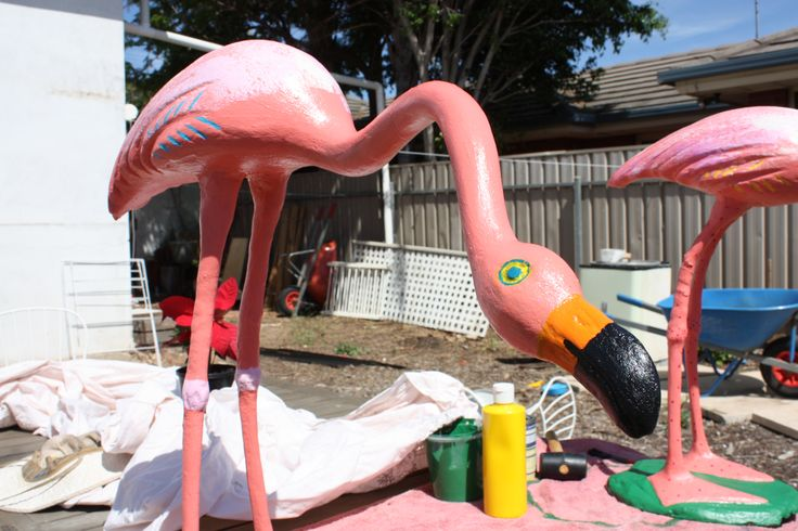 Flamingo restoration job.