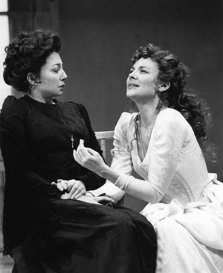 Kim Cattrall and Donna Murphy starred in our 1993 production of August Strindberg's MISS JULIE!