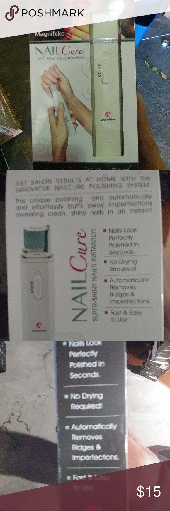 NailCare electric nail file and buffer includes 2extra files magnifeko Makeup Brushes & Tools