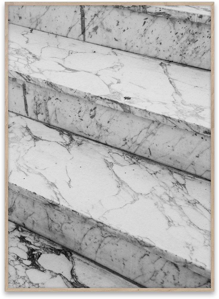 MARBLE STEPS BY NORM ARCHITECTS.  Buy print at https://paper-collective.com/product/marble-steps/ #papercollective #art #photo #photography #monochrome #grey #print #poster #posterdesign #design #interior #home #decor #homedecor #wallart #artprint