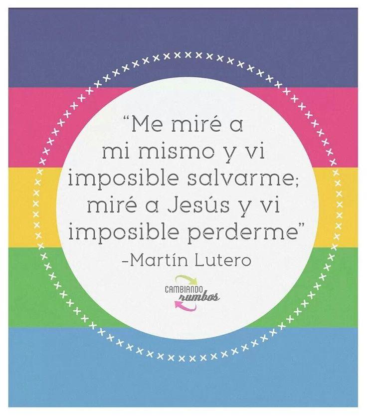 Martin Lutero...
