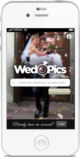 An alternative to disposable cameras - Whether they upload from their smartphone at the wedding, or via the website after the wedding, all of your guests pictures will be beautifully displayed on your app and your website. Here you and your guests can comment, love, slideshow and order prints of your wedding pictures.
