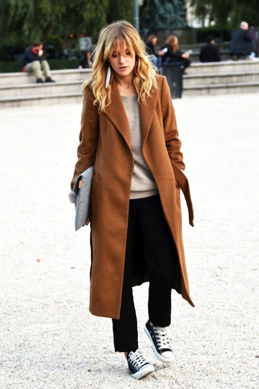 See This Blogger's Casual Minimalist Take On The Camel Coat