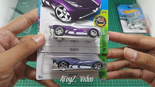 Basic Velocita VS Super Treasure Hunt Velocita  #velocita #hotwheels  More https://m.youtube.com/atoyz