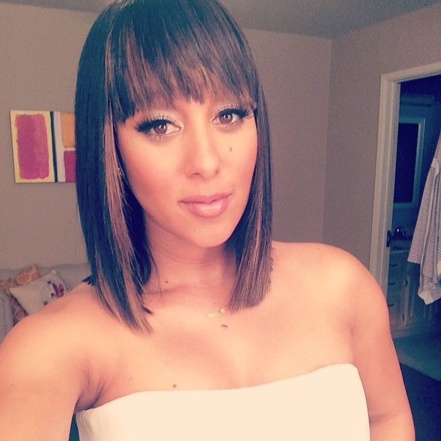 black hair bangs styles tamera mowry this momma is ready for a out with the 5847