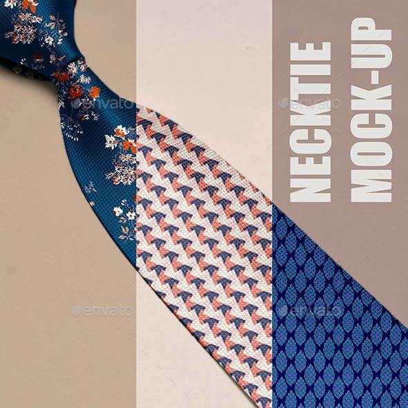 Necktie Mock Up Clothing Mockup Mockup Neck Tie