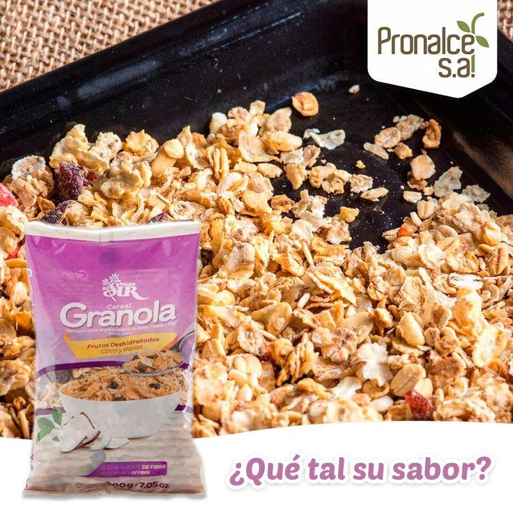 ¿Ya probaste el auténtico sabor de la #GranolaPronalceFrutosDeshidratados?
