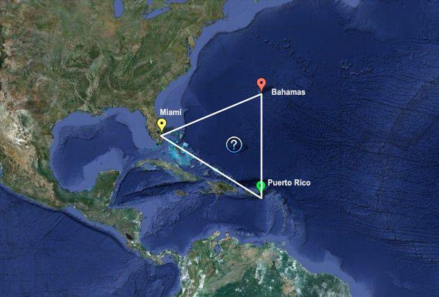 """Científicos """"Revelan"""" El Misterio Del Triángulo De Las Bermudas"""