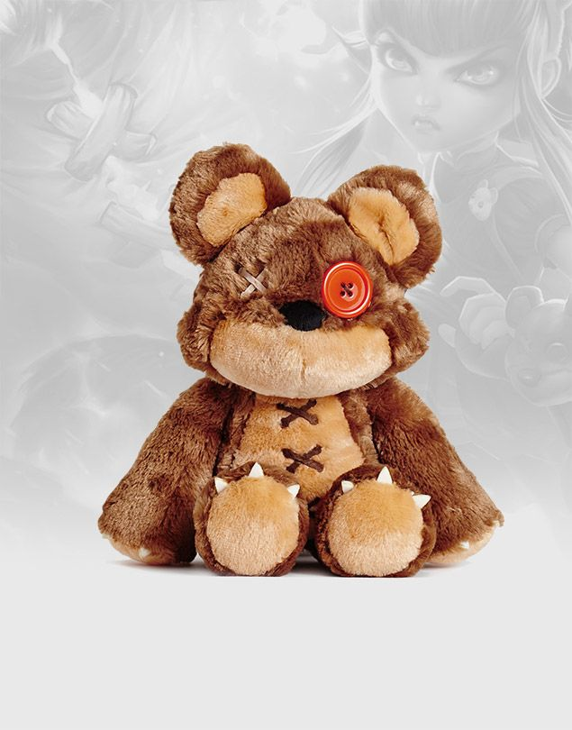 """Have you seen my bear Tibbers?"" Riot - League of Legends Merch store beta opened today!"
