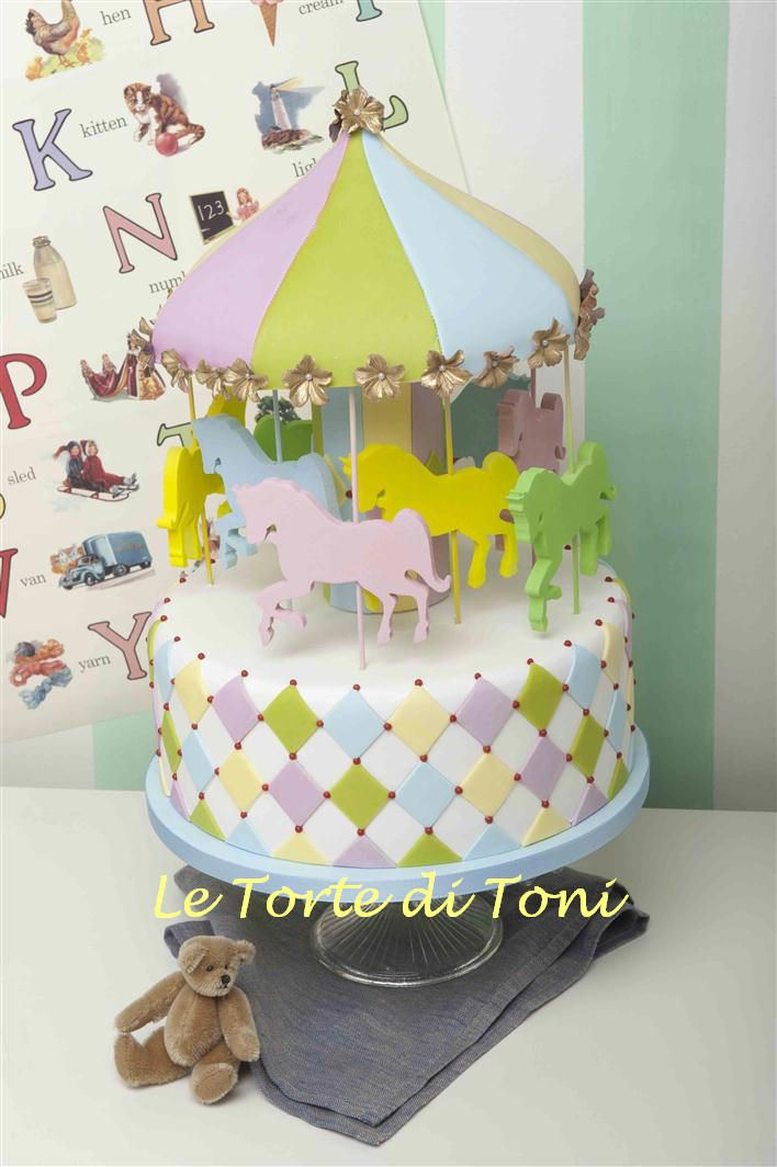 "MERRY-GO-ROUND From my book: ""La Torta Perfetta di Toni"" by Toni Brancatisano Published 2012 by GRIBAUDO Photography: www.paolopicciotto.com"