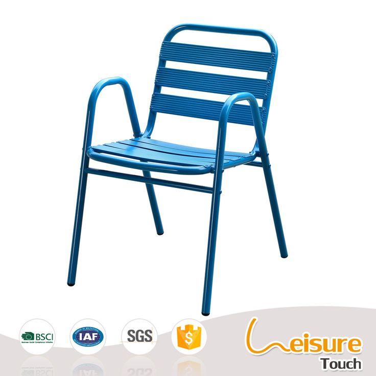 Trade assurance powder coating aluminum furniture restaurant outdoor chair