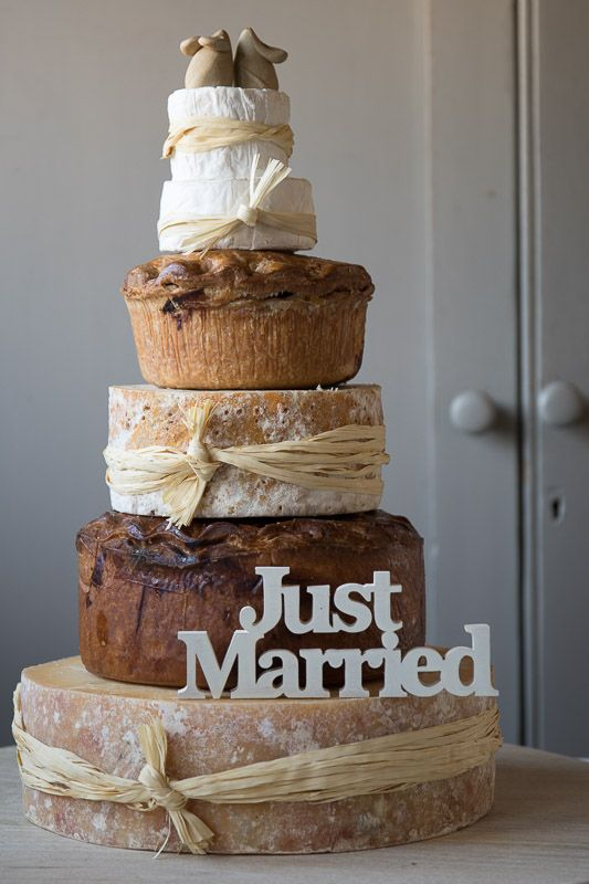 Our Pork Pie And Cheese Celebration Cake Would Make A Stunning Centrepiece For Your Wedding