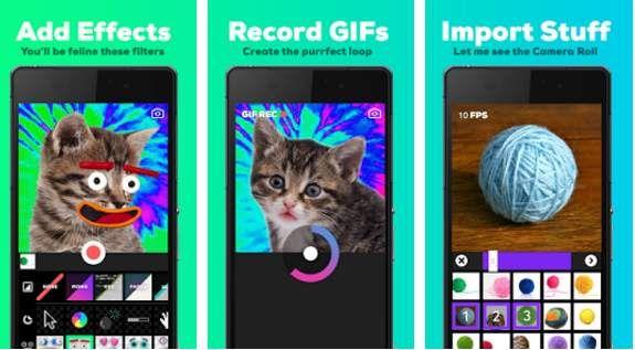 #Multimedia #animación #gif Giphy presenta nueva app android para creadores de Gifs
