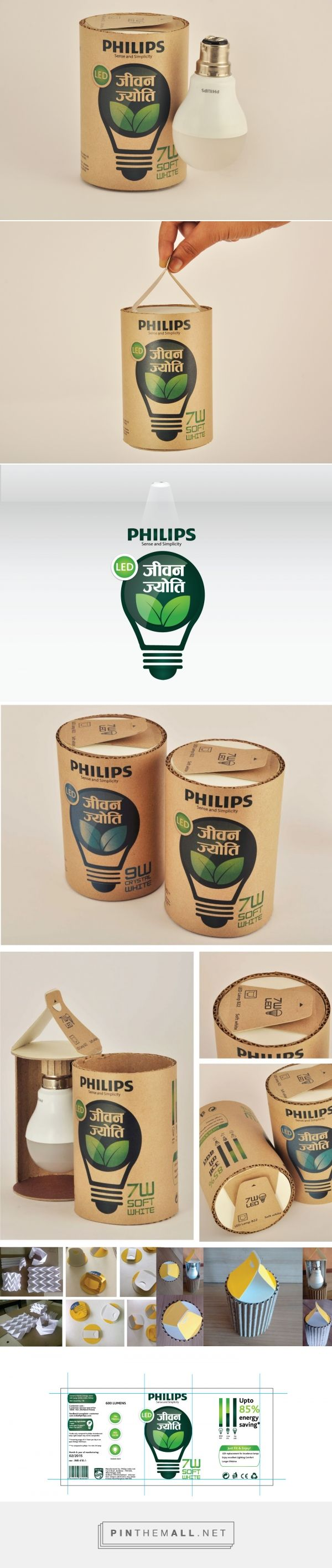 LED light bulb for rural India (Student Project) - Packaging of the World - Creative Package Design Gallery - http://www.packagingoftheworld.com/2016/12/led-light-bulb-for-rural-india-student.html