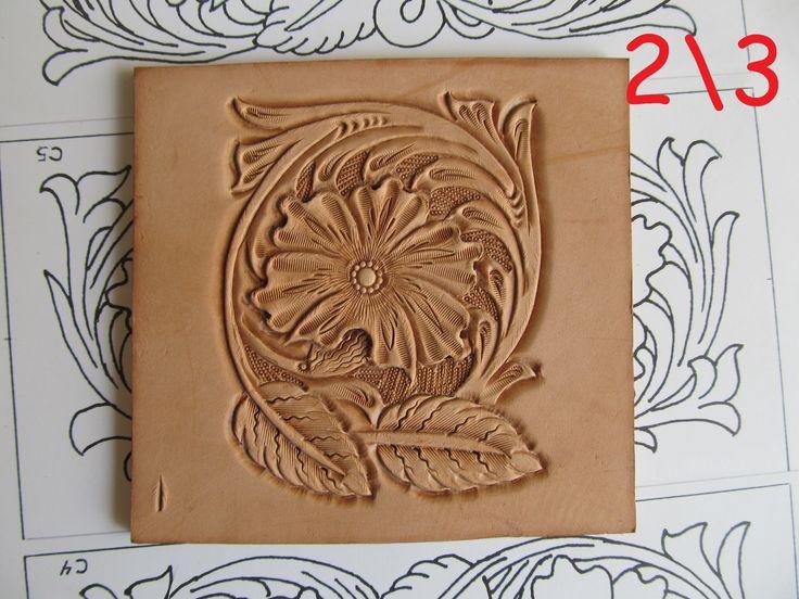 Тиснение шеридан sheridan style carving diy leather