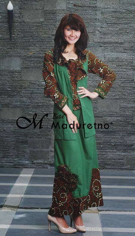 Abaya Batik Tulis Madura