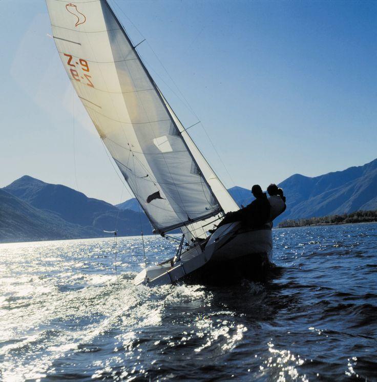 Sailing on Lake Maggiore @Hotel Eden Roc @Tschuggen Hotel Group