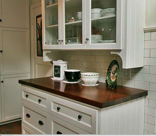 White Kitchen Hutch: 23 Best Images About Santa Cecilia Granite On Pinterest