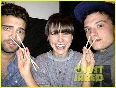 Sophia Bush: Not Dating Josh Hutcherson!