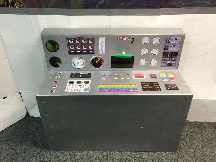 Cool Printable Spaceship Control Panel. Great For