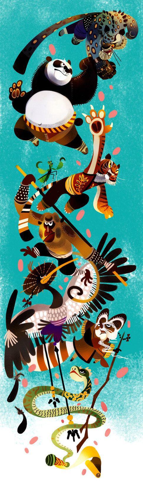 Animal is Kung Fu fighting by ~galgard on deviantART