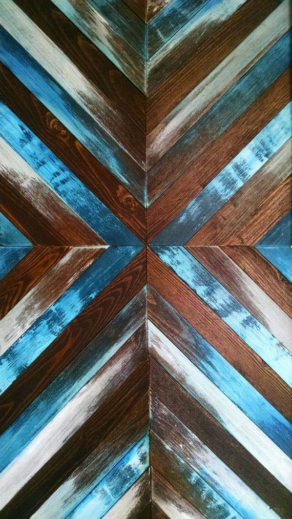 Blue Wood Wall Art Wood Wall Art Large Wall Art Wooden Wall