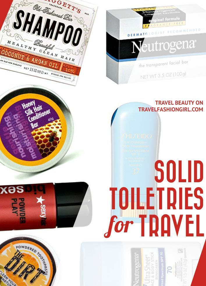 Solid Toiletries For Travel Forget Tsa Approved Liquids Travel Toiletries Travel Style Packing Tips For Travel