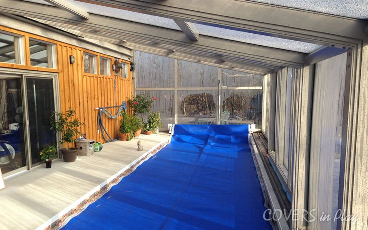 The Pool Enclosures also increase the commercial value of the swimming pools and embellish the surrounding scenery.http://www.coversinplay.com/features.html. #Pool #PoolCover #Cover #Enclosure #PoolEnclosure #IndoorPools #PatioEnclosures #PoolDesigns #SwimmingPool #EndlessPool #RectractablePool  #GroundPool