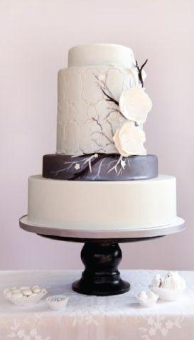 Modern Wedding Cake.