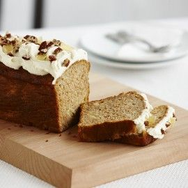 Pineapple Banana and Carrot Cake Loaf with Ricotta Icing