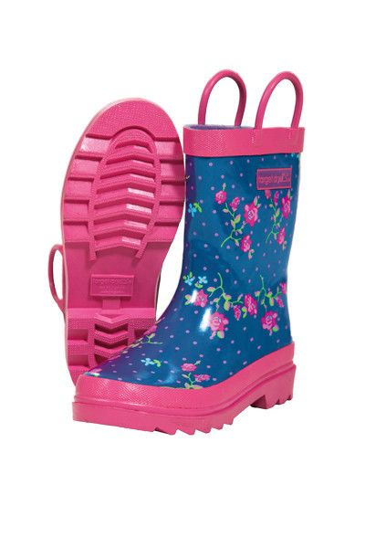 Heidi Welly  Waterproof 100% durable rubber 100% cotton lined Cushioned insole Easy on handles 100% rubber sole with deep tread EUR 24.99 www.hehirs.com