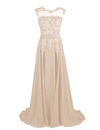 Dresstells Long Chiffon Prom Dress Homecoming Dress Bridesmaid Dress Champagne Size 6 Dresstells http://www.amazon.com/dp/B00OEMZFQ4/ref=cm_sw_r_pi_dp_yR65ub0SZ111Z