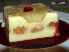 GATEAU TRES FRAIS A L'ANANAS (Gâteau sans cuisson) -