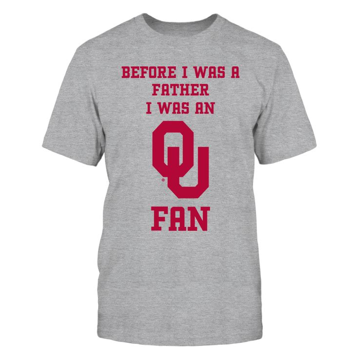 Oklahoma Sooner before I was a father T-Shirt, OKLAHOMA SOONERS Official Apparel - this licensed gear is the perfect clothing for fans. Makes a fun Alumni gift!  The Oklahoma Sooners Collection, OFFICIAL MERCHANDISE  Available Products:          Gildan Unisex T-Shirt - $34.95 District Men's Premium T-Shirt - $34.95 Gildan Long-Sleeve T-Shirt - $39.95 Gildan Unisex Pullover Hoodie - $54.95 Gildan Fleece Crew - $47.95       . Buy now…