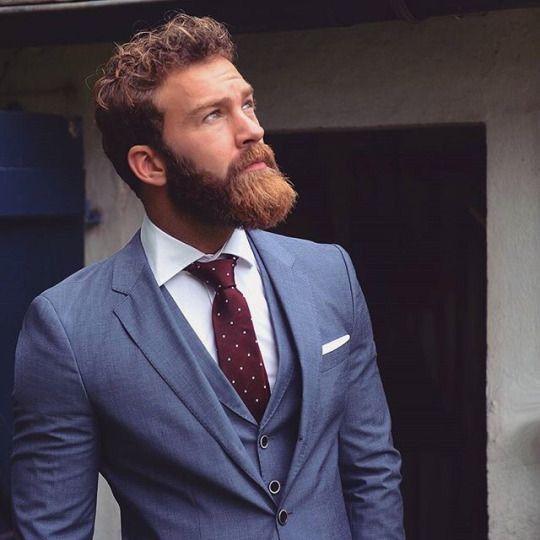 Mens fashion and beard